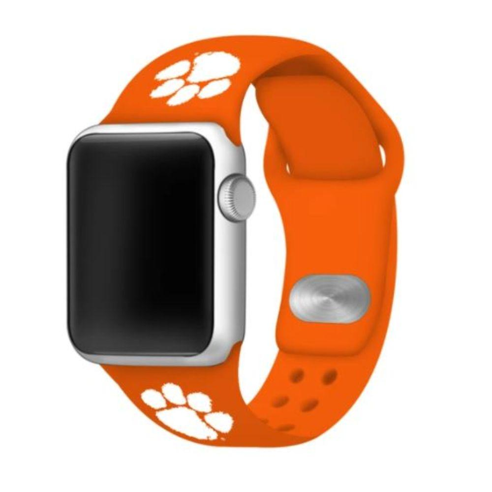 Clemson Apple Watch Silicone Sport Band 38mm