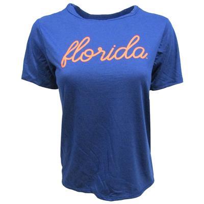 Florida League Unwind Back Tie Tee