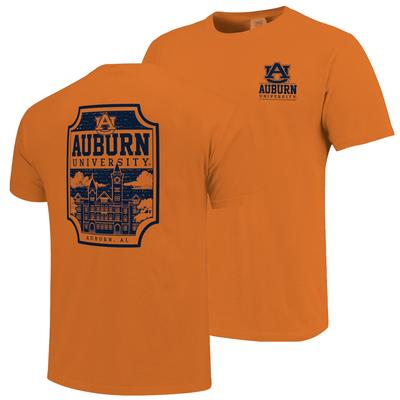 Auburn Comfort Colors Samford Hall T-Shirt
