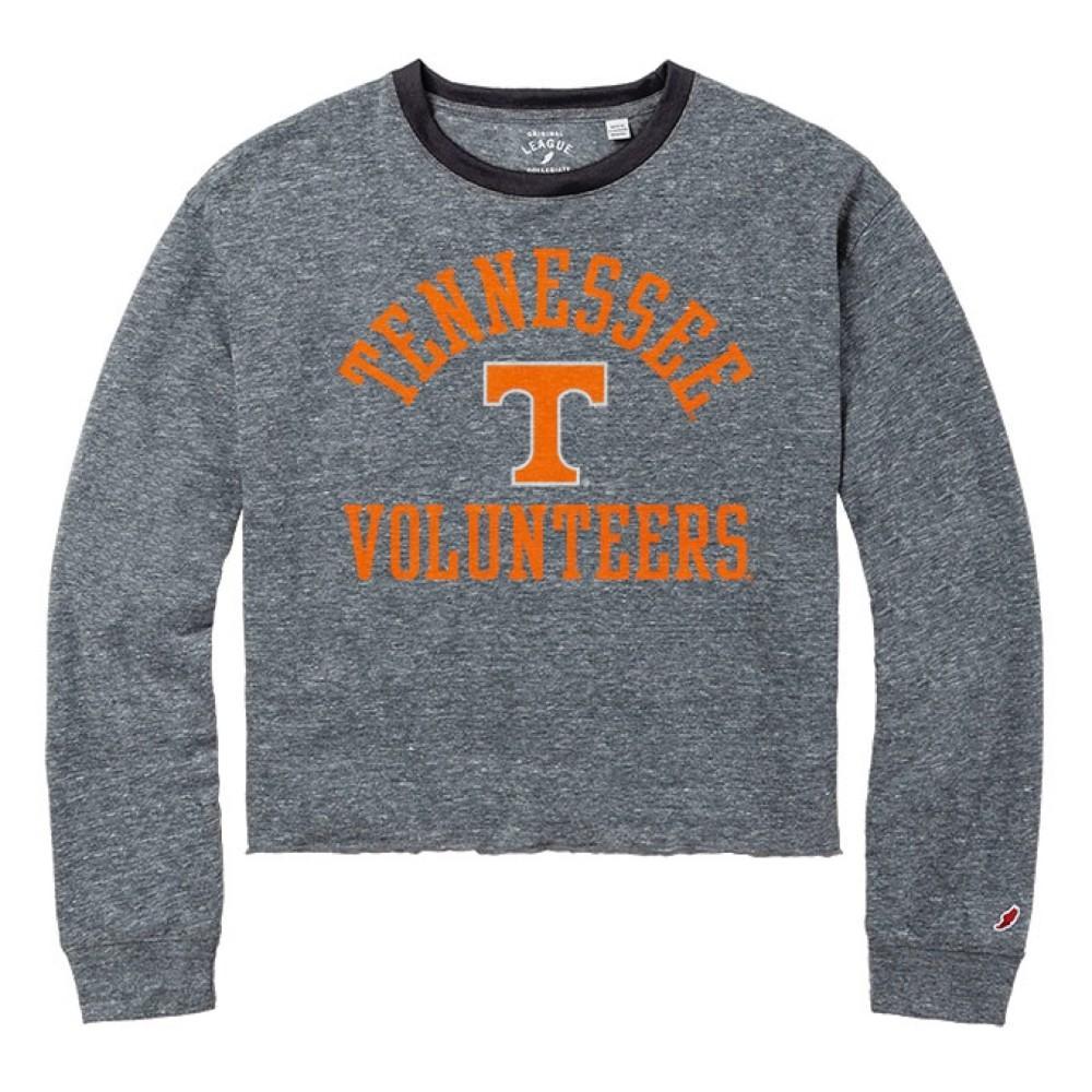 Tennessee League Intramural Long Sleeve Crop Top
