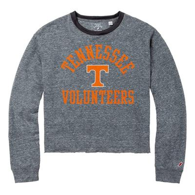 Tennessee League Intramural Long Sleeve Crop Top