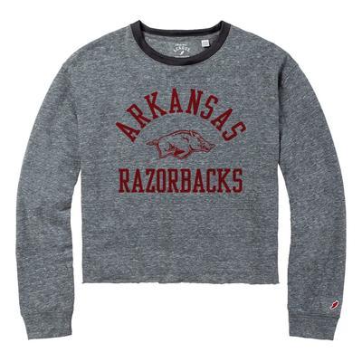 Arkansas League Intramural Long Sleeve Crop Top