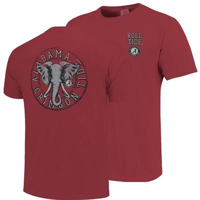 Alabama Comfort Colors Mascot Circle Tee