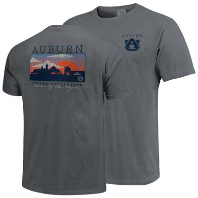 Auburn Comfort Colors Skyline Tee