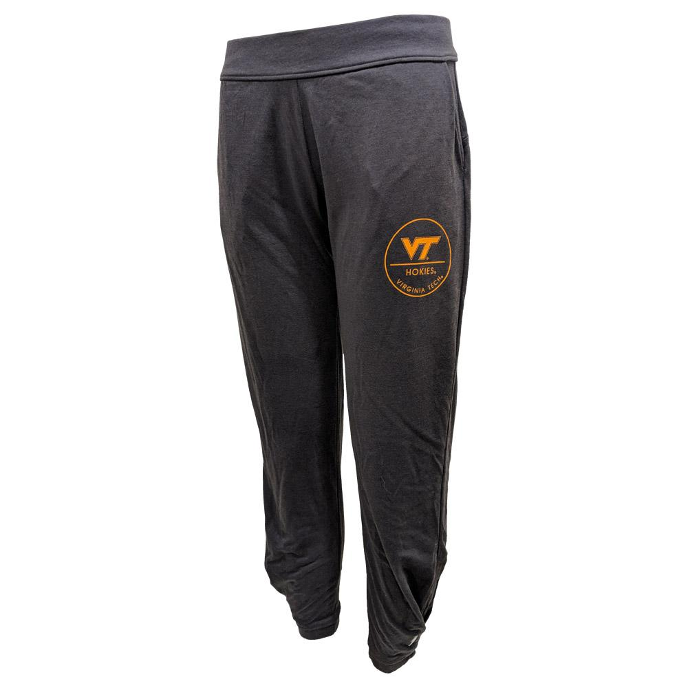 Virginia Tech League Unwind Pleated Jogger Pants