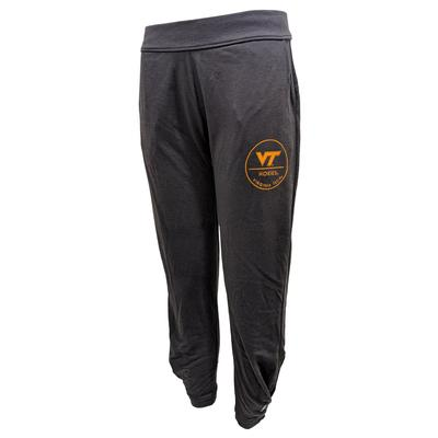 Virginia Tech League Unwind Pleated Jogger Pants