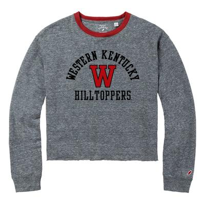 Western Kentucky League Intramural Long Sleeve Crop Top