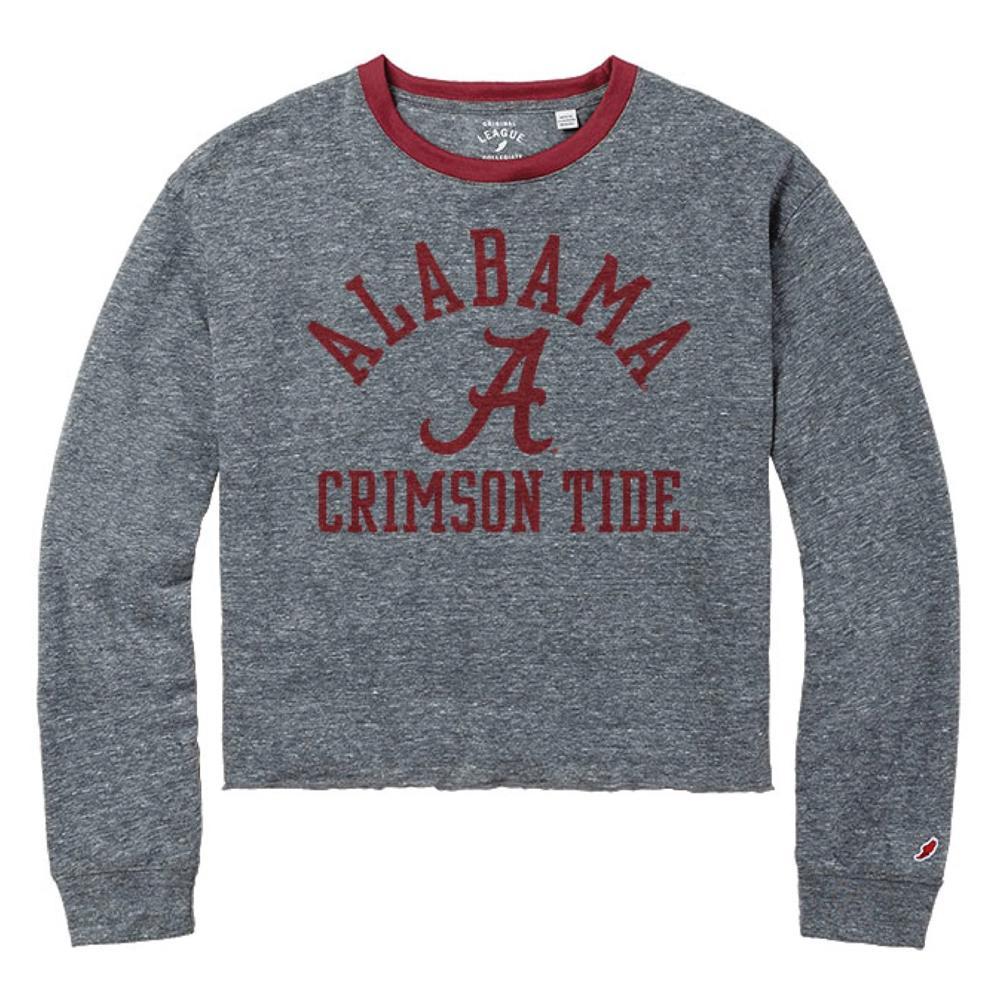 Alabama League Intramural Long Sleeve Crop Top