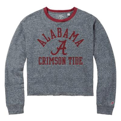 Alabama League Intramural Long Sleeve Crop Top