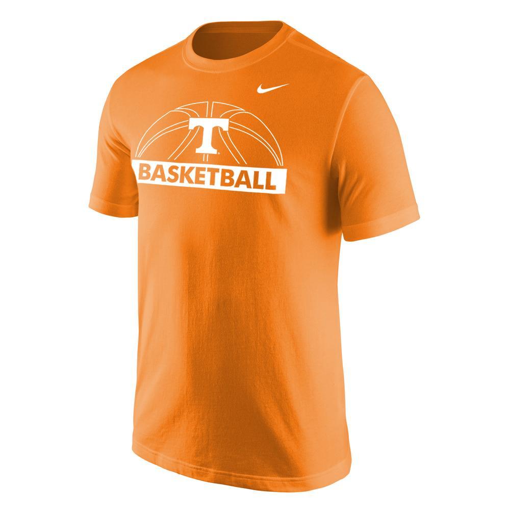 Tennessee Nike Short Sleeve Basketball Dri- Fit Tee