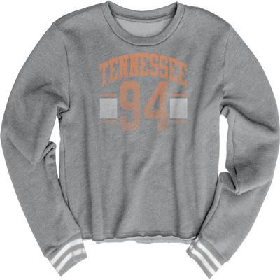 Tennessee Blue 84 Women's Quinn Varsity Crop Top