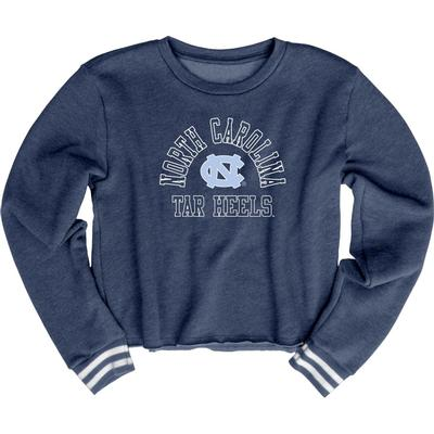 UNC Blue 84 Women's Quinn Varsity Crop Top