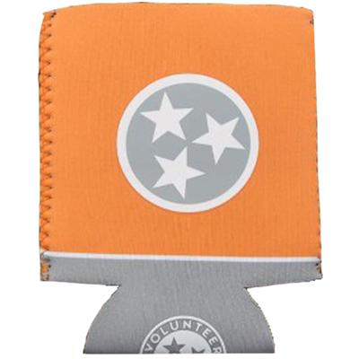 State of Tennessee Volunteer Traditions Orange and Grey Tristar Koozie