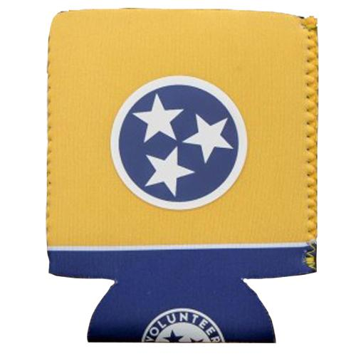 State Of Tennessee Volunteer Traditions Navy And Gold Tristar Koozie