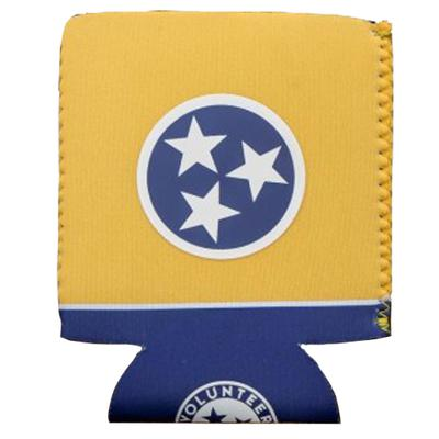 State of Tennessee Volunteer Traditions Navy and Gold Tristar Can Cooler
