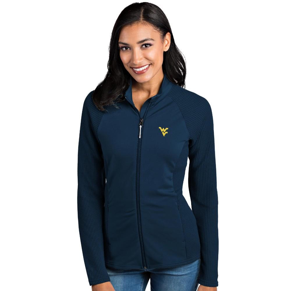 West Virginia Antigua Women's Sonar Full Zip Jacket