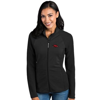 Arkansas Antigua Women's Sonar Full Zip Jacket