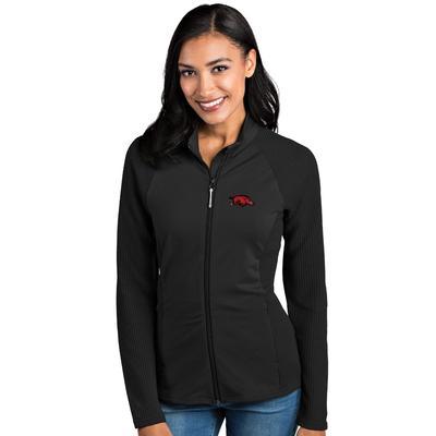Arkansas Antigua Women's Sonar Full Zip Jacket
