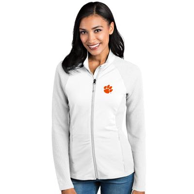 Clemson Antigua Women's Sonar Full Zip Jacket