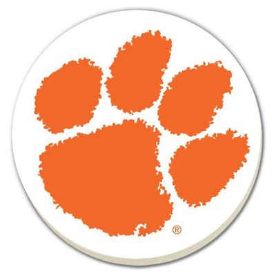 Clemson Paw Coaster (4 Pack)