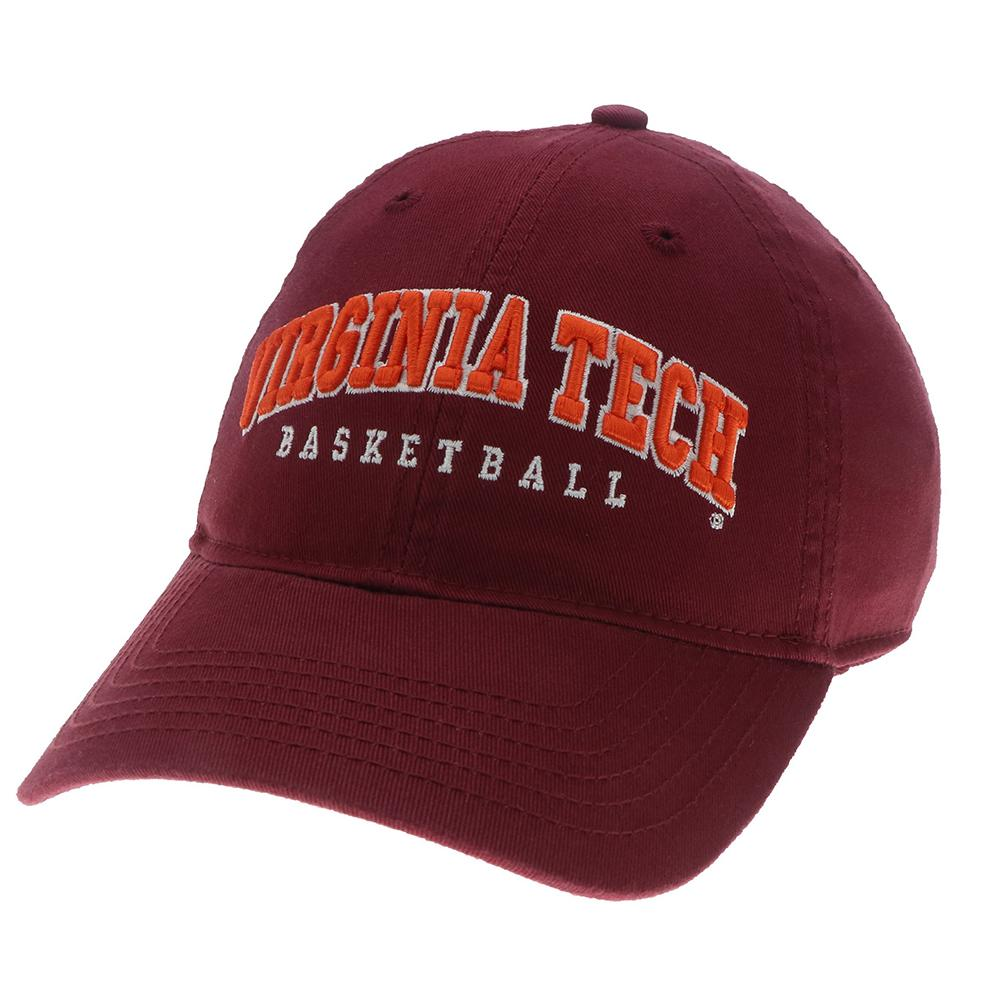 Virginia Tech Basketball Adjustable Crew Hat