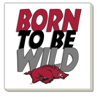 Arkansas Born to be Wild Coaster (4 Pack)