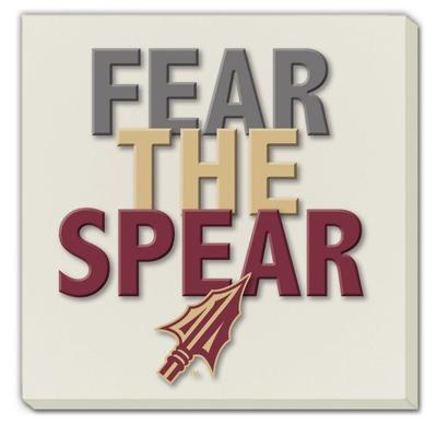 Florida State Fear the Spear Coaster