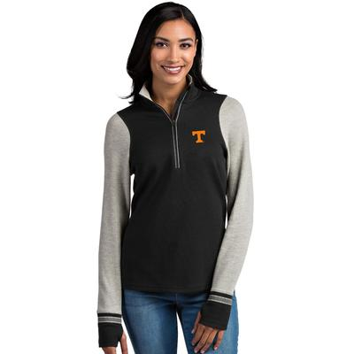 Tennessee Antigua Women's Pitch 1/2 Zip Pullover