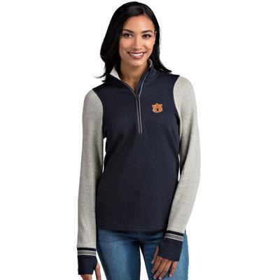 Auburn Antigua Women's Pitch 1/2 Zip Pullover