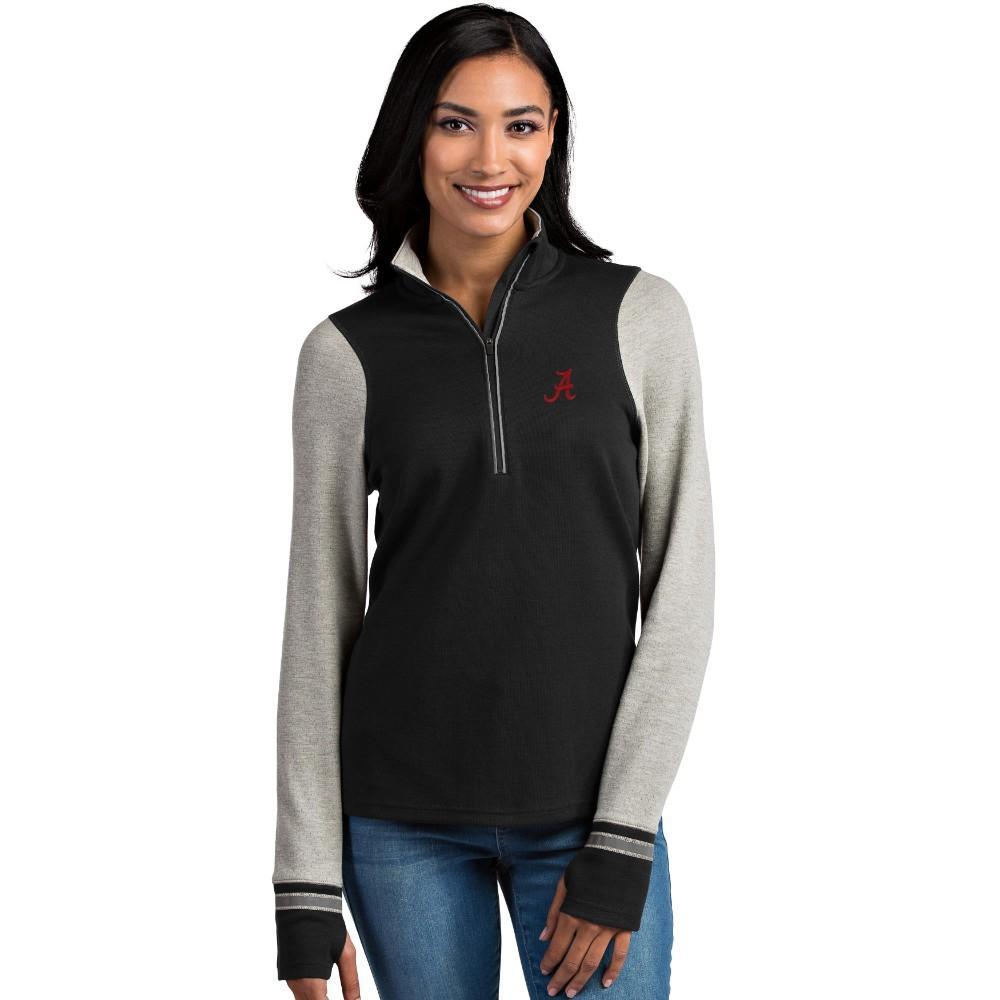 Alabama Antigua Women's Pitch 1/2 Zip Pullover