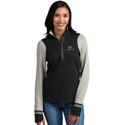 Virginia Tech Antigua Women's Pitch 1/2 Zip Pullover