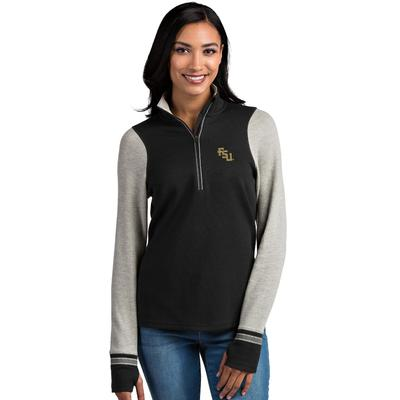 Florida State Antigua Women's Pitch 1/2 Zip Pullover