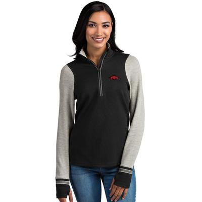 Arkansas Antigua Women's Pitch 1/2 Zip Pullover