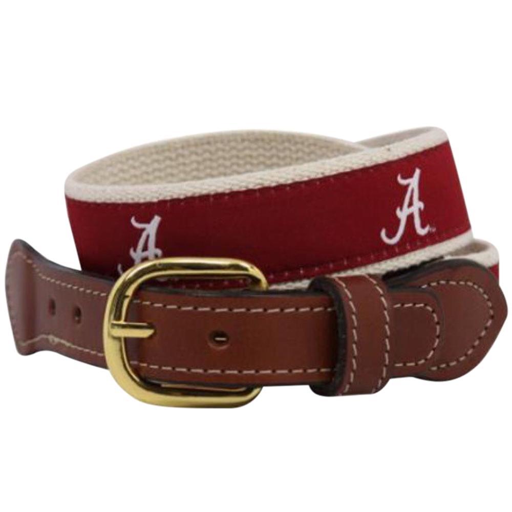 Alabama Script A Web Belt