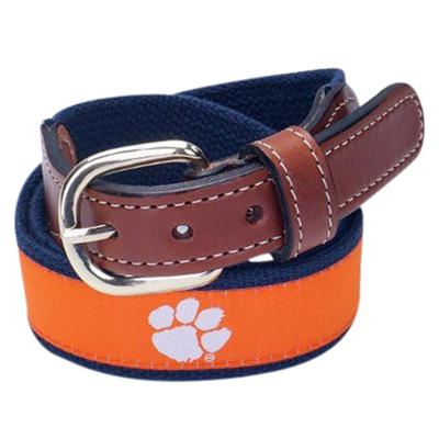 Clemson Tigers Web Belt