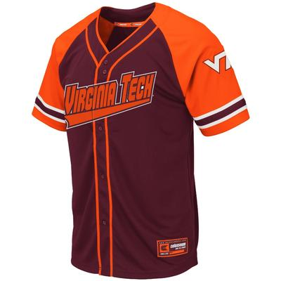 Virginia Tech Colosseum Baseball Jersey
