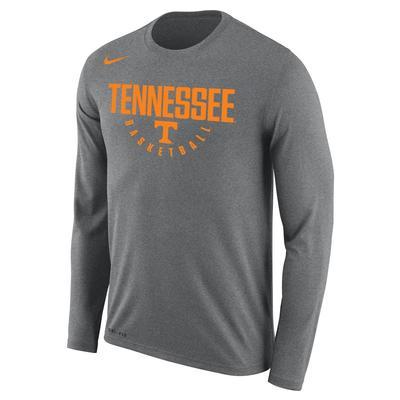 Tennessee Nike Basketball Key Long Sleeve Dri-FIT Tee