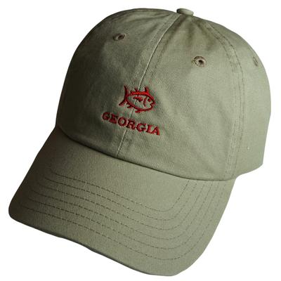 Georgia Southern Tide SkipJack Adjustable Hat KHAKI