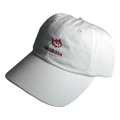 Georgia Southern Tide SkipJack Adjustable Hat WHITE