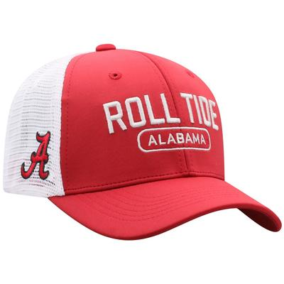 Alabama Top of the World 3D Logo Mesh Back Cap