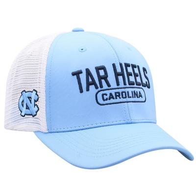 UNC Top of the World 3D Logo Mesh Back Cap