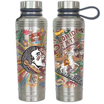 Florida State Catsudios Stainless Steel Thermal Water Bottle