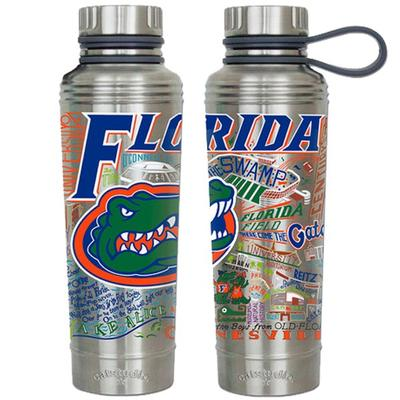 Florida Catsudios Stainless Steel Thermal Water Bottle