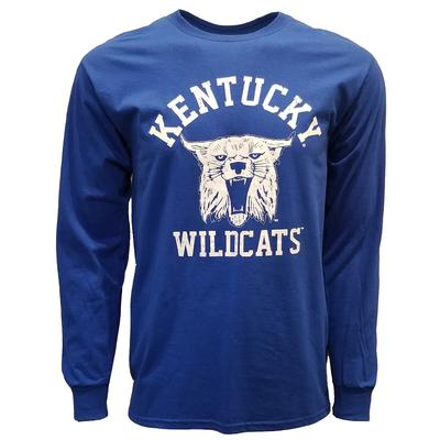 Kentucky Vault Wildcat Arch Logo Long Sleeve Tee