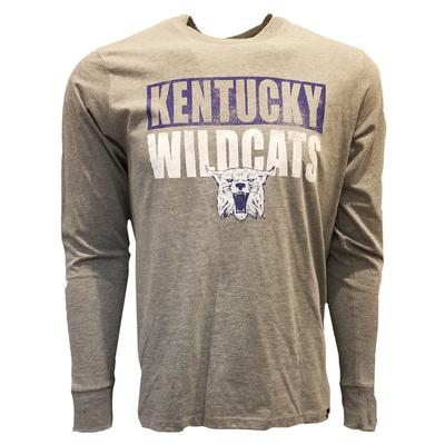 Kentucky 47' Stack Long Sleeve Club Tee