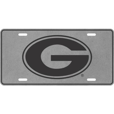 Georgia Power G Logo License Plate