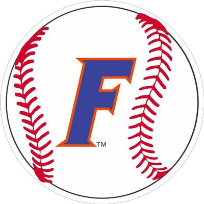 Florida Block F Baseball Decal 4