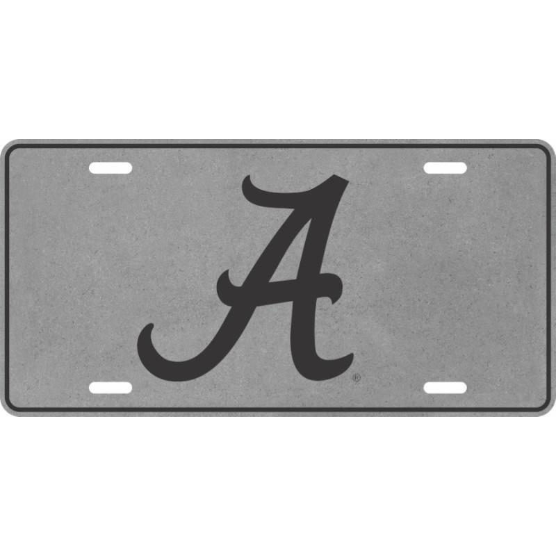 Alabama Script A License Plate