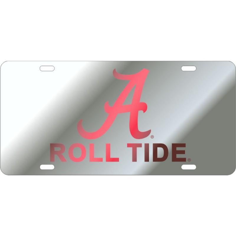 Alabama Script A Roll Tide License Plate
