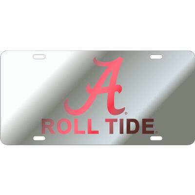 Alabama Script A Roll Tide License Plate